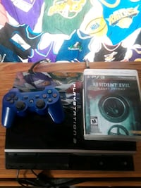 PS3 with Controller and Games  Knoxville, 37917