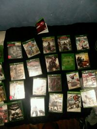 Assorted xbox one games Arab, 35016