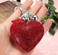 Heart Shaped Crystal Charm/Keychain Pikesville, 21208