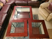 Wood & Glass Decorative Tables   Chesaning, 48616
