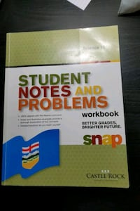 Science 10 students notes and problems workbook Burnaby