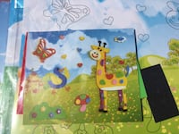 3D DIY children foam art puzzle pictures set of 5 large & 5 small for $5 / toy, game, kids project Greensboro, 27407
