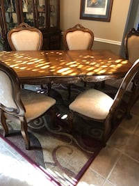 brown wooden dining table set Oklahoma City, 73012