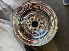 chrome OE wheels