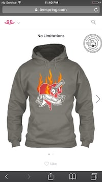 black and red pullover hoodie Marietta, 30067