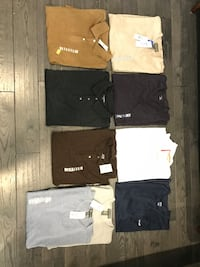 Men's T-shirts and golf shirts