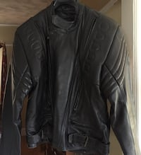 Motorcycle Leather Jacket , is been use only twice is size Large  Floral Park, 11001