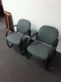 two office arm chairs Aurora