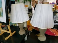 white and gray table lamp Pharr, 78577
