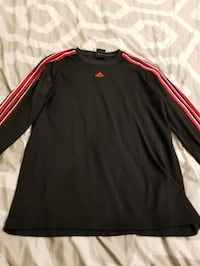 Mens Adidas Long Sleeve Top - Medium