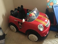 Mickey Mouse electric car