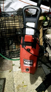1400psi elec. pressure washer Holiday, 34690