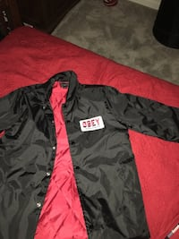 Black and red obey jacket  Sacramento, 95841