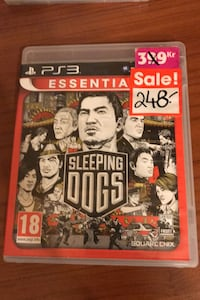 Playstation 3 Sleeping Dogs