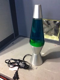 Hardly used Lava Lamp (Blue and Yellow) Milton, L0P 1B0