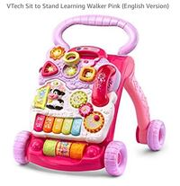 Vtech Sit to Stand Learning Walker, Pink Toronto, M5V 3W1