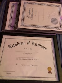 3 Certificates. As is or can be personalized