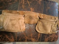 Tool Belt w/ Pouches & Nails