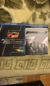 Fast And Furious Collection 1-7 New Westminster, V3M