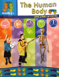 The Human Body Educational Detachable Pages 50 available 2267 mi