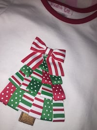 New, Baby girl Christmas outfit 6-9mo. (brand jessica Anne