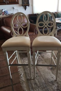 Bar stools matching pair