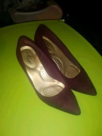 pair of brown suede pointed-toe flats San Jose, 95110