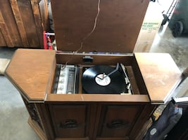 Record player and records