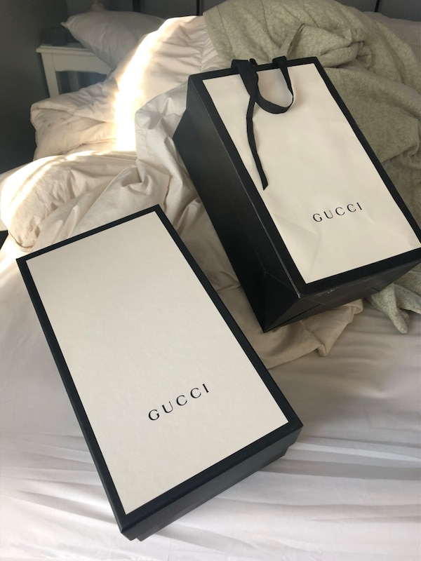 0a151ca4b0cd Used GUCCI BOX AND BAG for sale in Emory - letgo