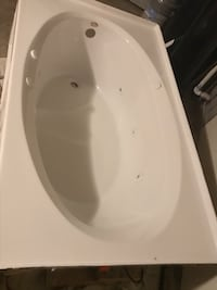 white ceramic sink with stainless steel faucet San Antonio, 78253