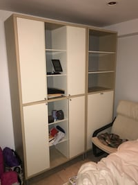 IKEA product with combination of the cabinets and shelves units Mississauga, L4W 4A8