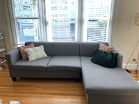 Gray Sectional - like new!! San Francisco, 94123