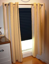 6 LAUREN STRIPE DRAPERY PANELS