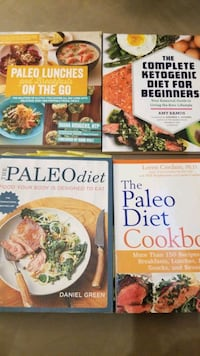 Paleo and Keto Cookbook Lot Brampton
