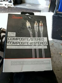 Rocket fish 12ft  Composite/Stereo Video/Audio Cable