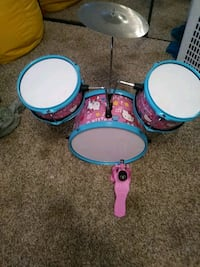 blue and pink Hello Kitty drums Hemet, 92545