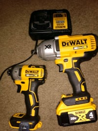 20v 3 speed hammer drill and 20v impact drill with charger and battery Peoria, 85382