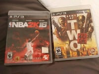 two Sony PS3 game cases El Paso, 79912
