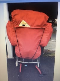 Back pack red Kelty youth external frame