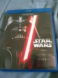 Star Wars 4,5, and 6 blue ray and dvd Monroe, 48161
