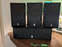 Yamaha speakers and mount West Springfield, 22152