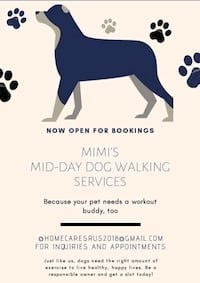 Pet Sitting Available As Well. Silver Spring