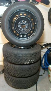 $650 obo Winter tires and rims great condition  Port Coquitlam, V3C 5Z6