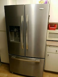 stainless steel french door refrigerator Santa Ana, 92707