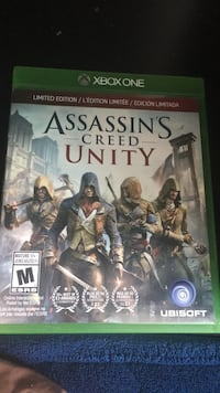 Xbox One Assassin's Creed Unity game case Toronto, M3N 2Z8