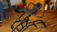 black metal leg extension machine Janesville, 53548
