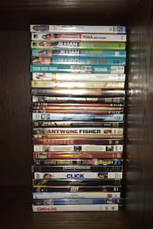 Assorted DVDs