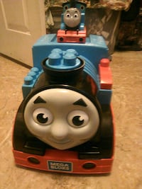 Thomas ride toy blocks