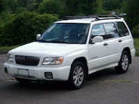 2002 Subaru Forester S AWD 4DR WAGON 4CYL AT    Palmer, 01069