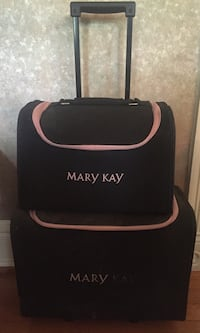 two black and pink mary kay trolley luggage bag Woodbridge, 22191